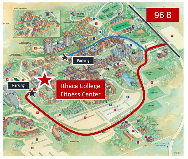 Campus Map Ithaca College.List Of Synonyms And Antonyms Of The Word Ithaca College Map